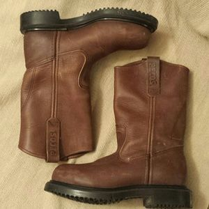 Red Wing Pecos Rugged Boots Sz 4
